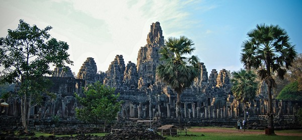 temple bayon cambodge photo