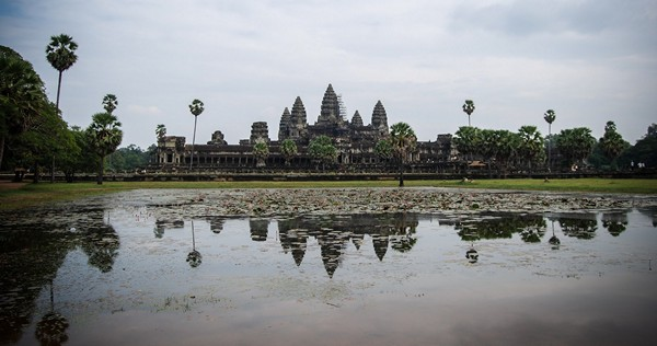 temple angkor wat cambodge