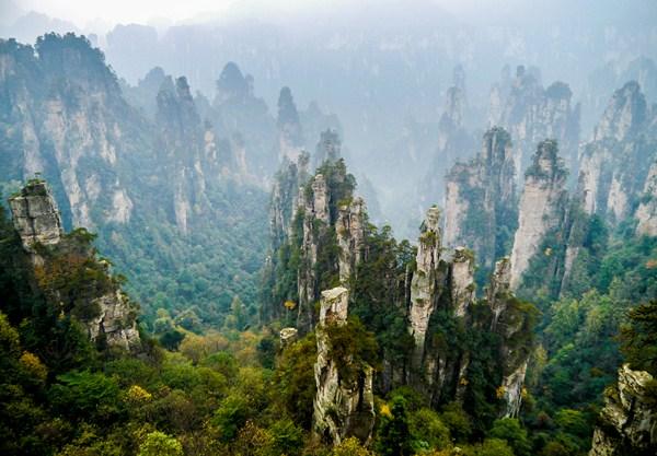 photos zhangjiajie chine hunan wulingyuan 1