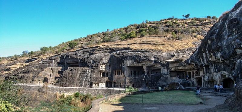 photo grotte Ellora Inde