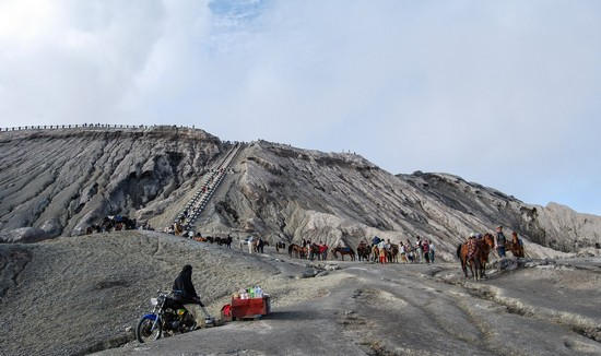 photo volcan mont bromo indonésie java
