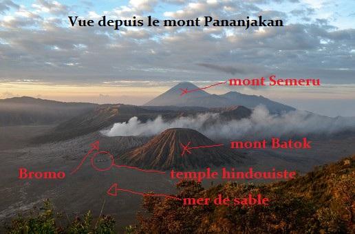 Mont Bromo Carte 2