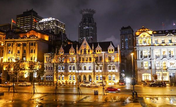 Le bund de shanghai chine guide de voyage et infos for Chambre de commerce shanghai