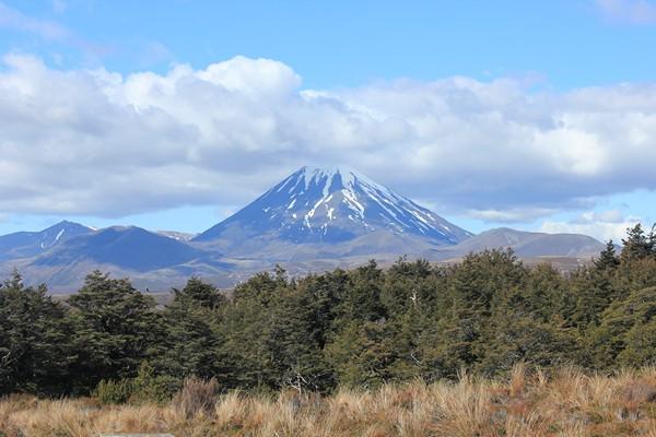 mont Ngahuruhoe nouvelle zélande