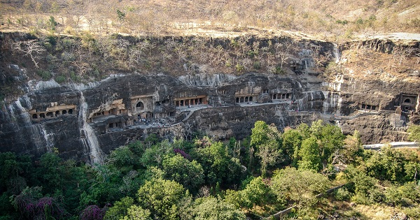 grottes d'ajanta Inde photo
