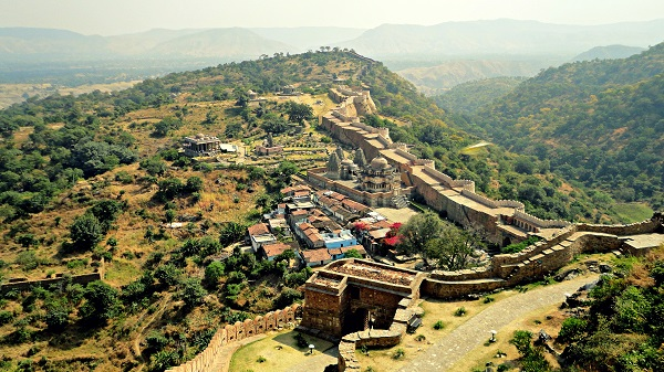 kumbhalgarh Fort Inde Photo