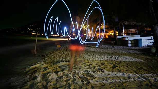 photo light painting