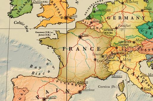 Carte de France touristique détaillée | Noobvoyage.fr