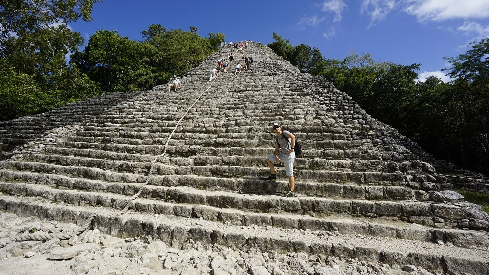 coba mexique yucatan