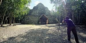 pyramide coba