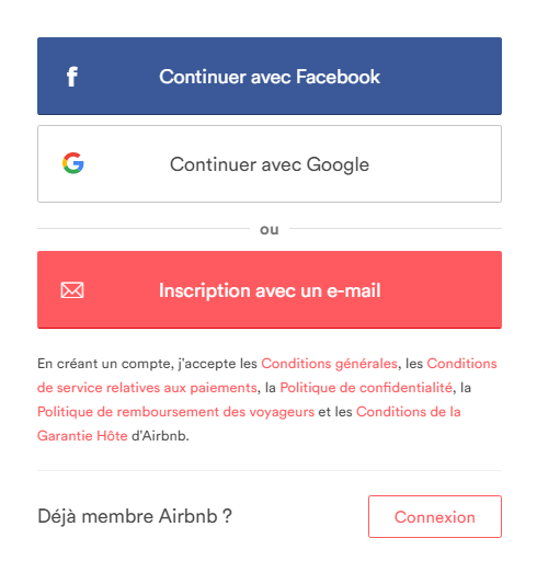 reduction airbnb