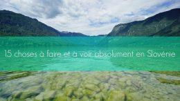 la slovenie tourisme