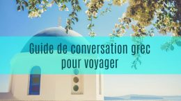 guide de conversation grec
