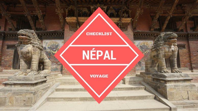 quoi emmener au népal
