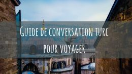 Guide de conversation turc pdf