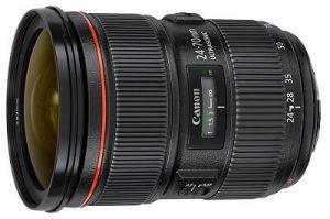 quel objectif Canon EOS 5D MARK IV