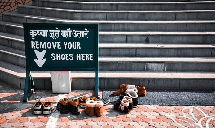 quelles chaussures emporter en inde