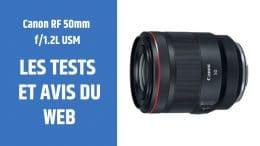 Test Canon RF 50mm f1.2L USM