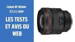 test Canon RF 85mm f1.2 L USM