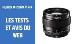 test Fujinon XF 23mm F1.4 R