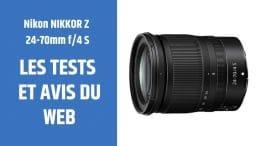 test Nikon NIKKOR Z 24-70mm f4 S