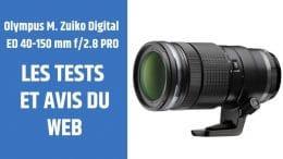 test Olympus M. Zuiko Digital ED 40-150 mm f2.8 PRO