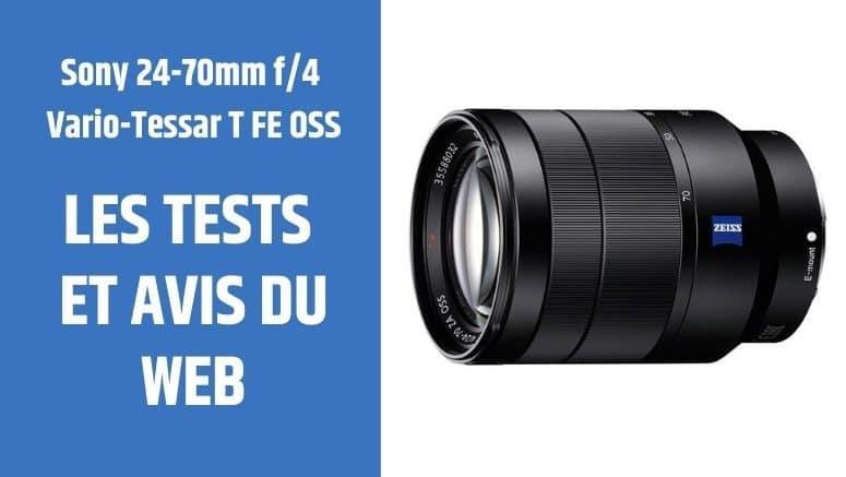 test Sony 24-70mm f4 Vario-Tessar T FE OSS