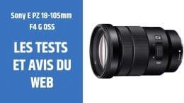 test Sony E PZ 18-105mm F4 G OSS