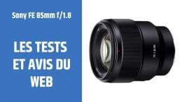 test Sony FE 85mm f1.8