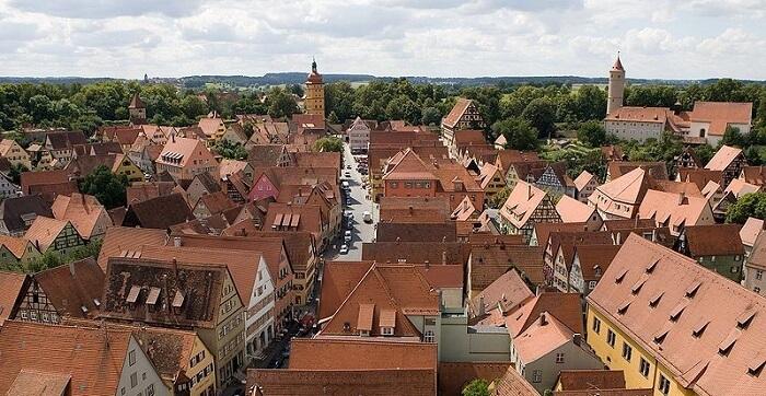 (7) les plus belles villes allemagne